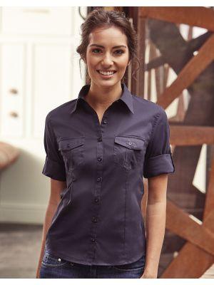 Camisas manga larga russell manga 34 mujer vista 6
