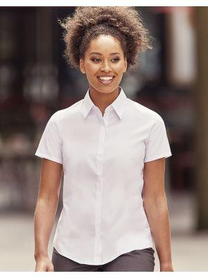 Camisas manga corta russell ajustada manga corta ultimate mujer para personalizar imagen 4