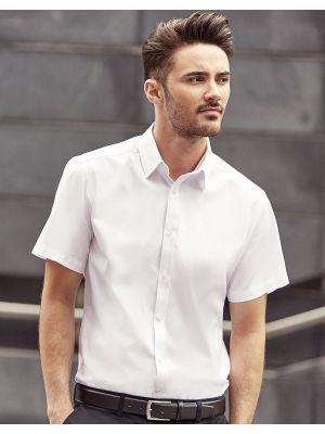 Camisas manga corta russell en espiguilla manga corta hombre con impresión vista 1