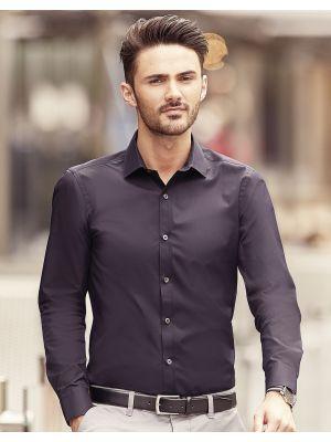 Camisas manga larga russell ajustada manga larga ultimate hombre con impresión imagen 5