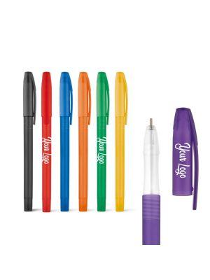 Bolígrafos básicos levi de plástico con impresión imagen 1