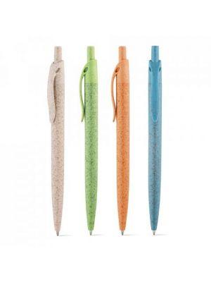 Bolígrafos básicos camila de paja con publicidad imagen 3