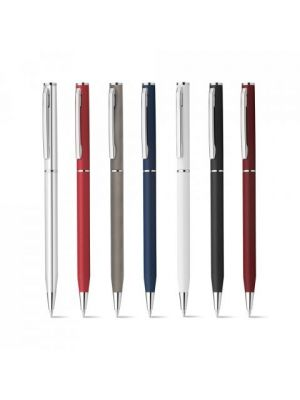 Bolígrafos personalizados lesley metallic de metal con logo vista 1