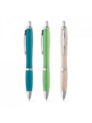 Bolígrafos originales terry de paja ecológico para personalizar vista 2