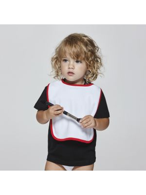 Roly roly ropa bebé dummy de algodon con impresión vista 1
