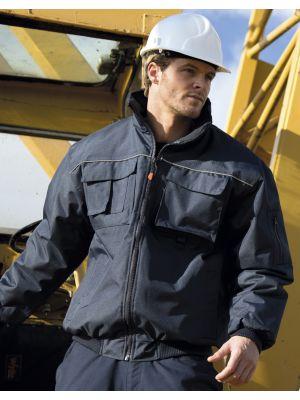 Chaquetas de trabajo result chaqueta hombre work guard sabre pilot jacket con impresión vista 2