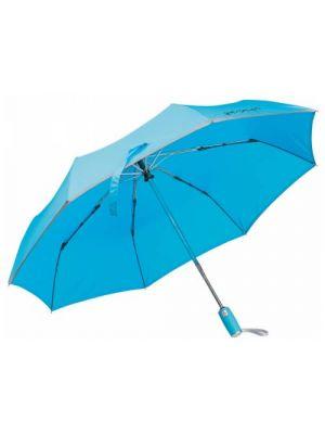 Paraguas clásicos uma de poliéster con logo vista 4