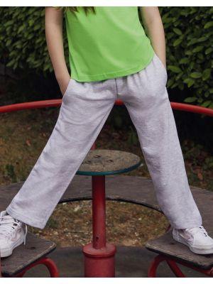 Pantalones fruit of the loom de felpa ligero niños con logo vista 1