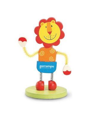 Clips lion de madera vista 1