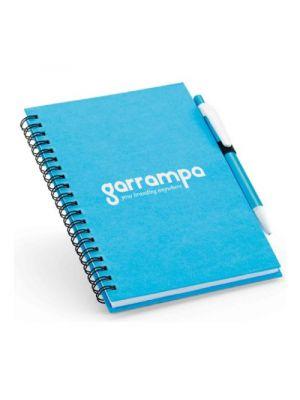 Cuadernos con anillas rothfuss ecológico con publicidad vista 1