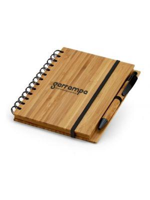 Cuadernos con anillas dickens 135x80 de bambú ecológico vista 1
