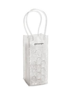 Enfriadores y cubiteras colombia. bolsa enfriadora para 1 botella de pvc con publicidad vista 1