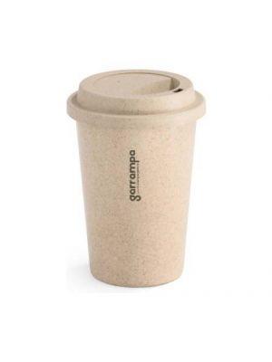 Vasos para llevar tisana de bambú ecológico vista 1