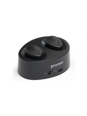Auriculares botón chargaff de plástico con logo vista 1