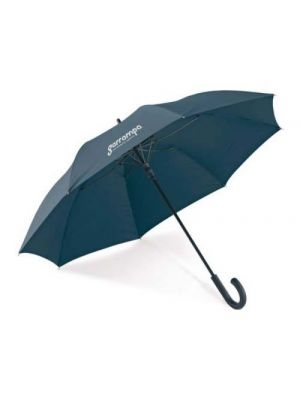 Paraguas clásicos albert de plástico con logo vista 1