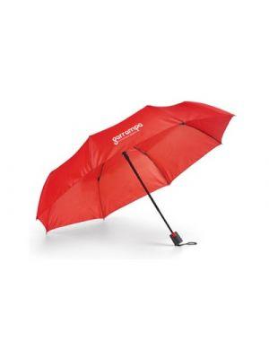 Paraguas plegables tomas de poliéster con impresión vista 1