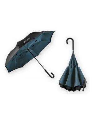 Paraguas clásicos angela de plástico con impresión vista 1