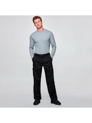 Pantalones de trabajo roly daily de poliéster con logotipo imagen 1