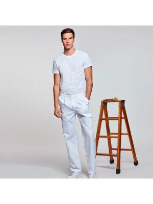 Pantalones de trabajo roly pintor de algodon con logo imagen 1