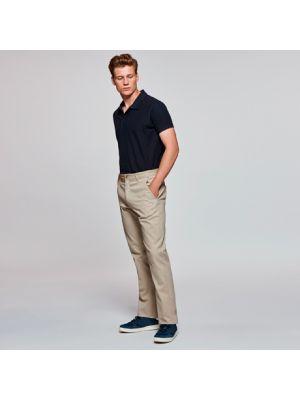 Pantalones de hostelería roly ritz de algodon con logotipo imagen 1