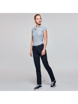 Pantalones roly hilton de algodon para personalizar imagen 1