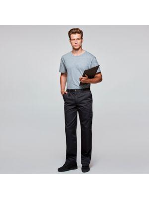 Pantalones de trabajo roly protect de poliéster con logo vista 1