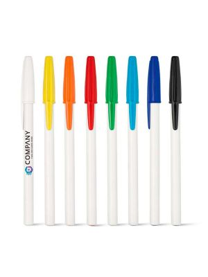 Bolígrafos básicos corvina con publicidad imagen 1