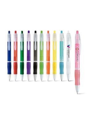 Bolígrafos básicos slim con logo imagen 2