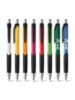 Bolígrafos básicos caribe de plástico imagen 1