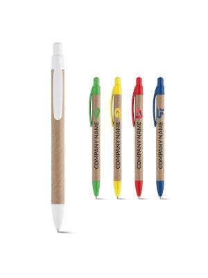 Bolígrafos básicos remi de papel ecológico con impresión imagen 2