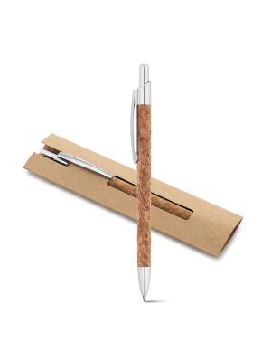 Bolígrafos básicos natura de corcho ecológico con impresión imagen 2