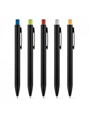 Bolígrafos publicitarios joan de metal con logo imagen 3
