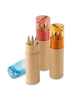 Pinturas colorear rols de cartón para personalizar imagen 2