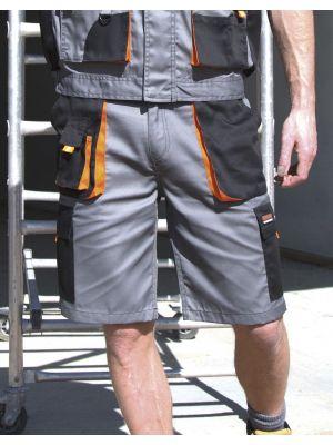 Pantalones de trabajo result corto lite para personalizar vista 1