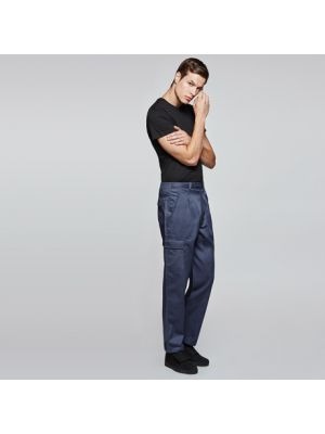 Pantalones de trabajo roly daily next de algodon con logo imagen 1