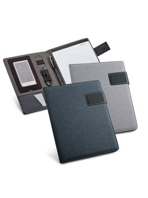 Pynchon. portafolios a5 de polipiel con logo imagen 2