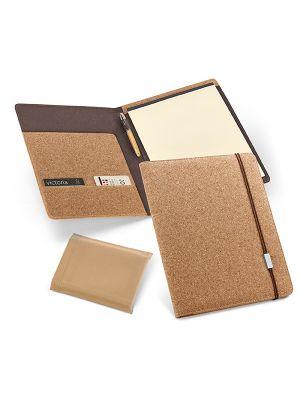 Serpa. portafolios a4 de corcho ecológico con impresión imagen 2