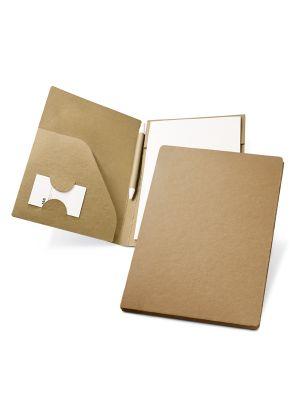 Durrell. portafolios a5 de cartón ecológico con publicidad imagen 2