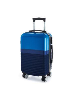 Maletas y trolleys perth. trolley de plástico con publicidad vista 1