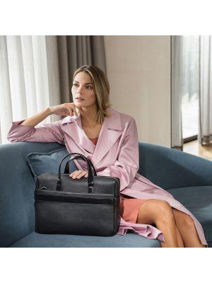 Maletines de ejecutivo branve empire suitcase ii de polipiel con logo vista 2
