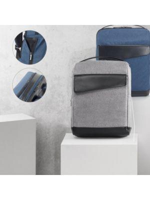 Mochilas para ordenador branve motion backpack de polipiel con logo imagen 6