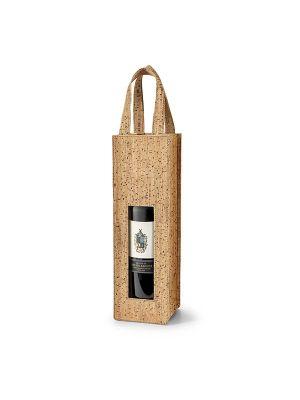 Accesorios vino borba. bolsa para 1 botella de corcho ecológico imagen 2