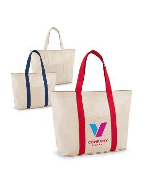 Bolsas compra ville de 100% algodón con logo imagen 2