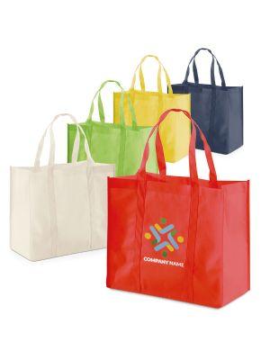 Bolsas compra shopper no tejido con publicidad imagen 2