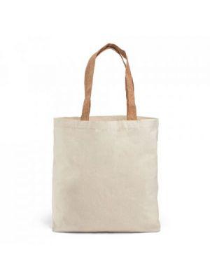 Bolsas personalizadas feria de 100% algodón con impresión vista 1