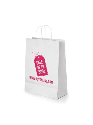Bolsas de papel cabazon de papel con publicidad imagen 2