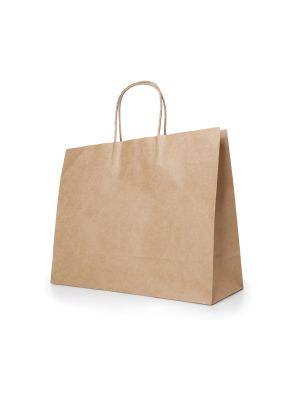 Bolsas de papel kira de papel con publicidad imagen 2