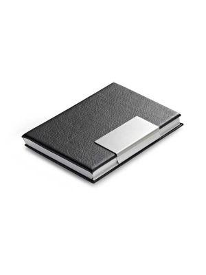 Tarjeteros reeves de metal con impresión vista 1