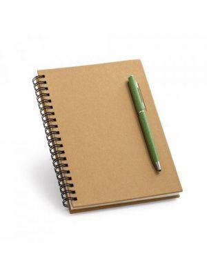 Cuadernos con anillas rock de papel con impresión vista 3
