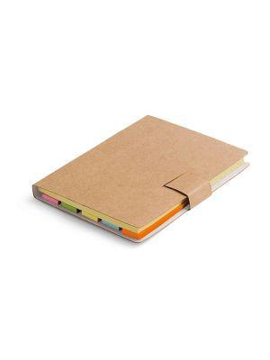Notas adhesivas lewis de cartón con logo imagen 2
